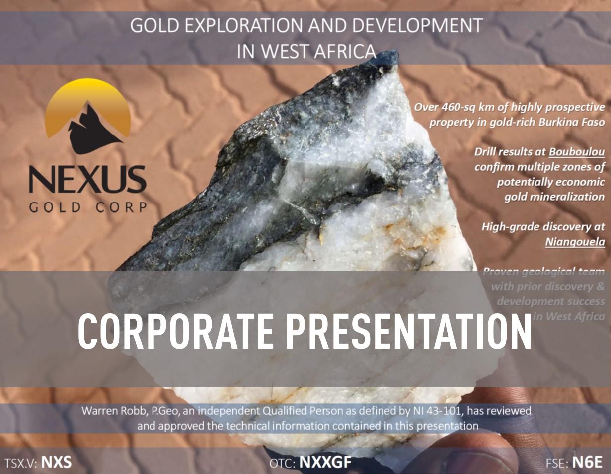 CorporatePresentation NexusGold