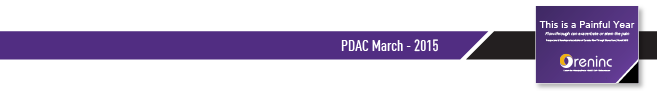 PDAC March 2015