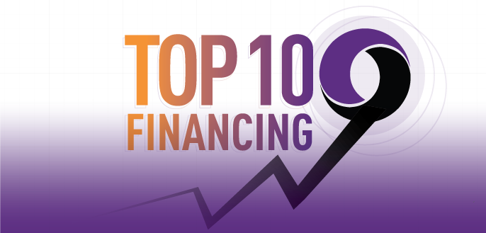 Top 10 Financings March - April 2017