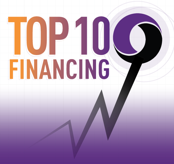 Top 10 Financings for November 2017
