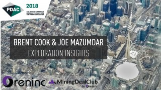PDAC 2018: Interview with Brent Cook & Joe Mazumdar
