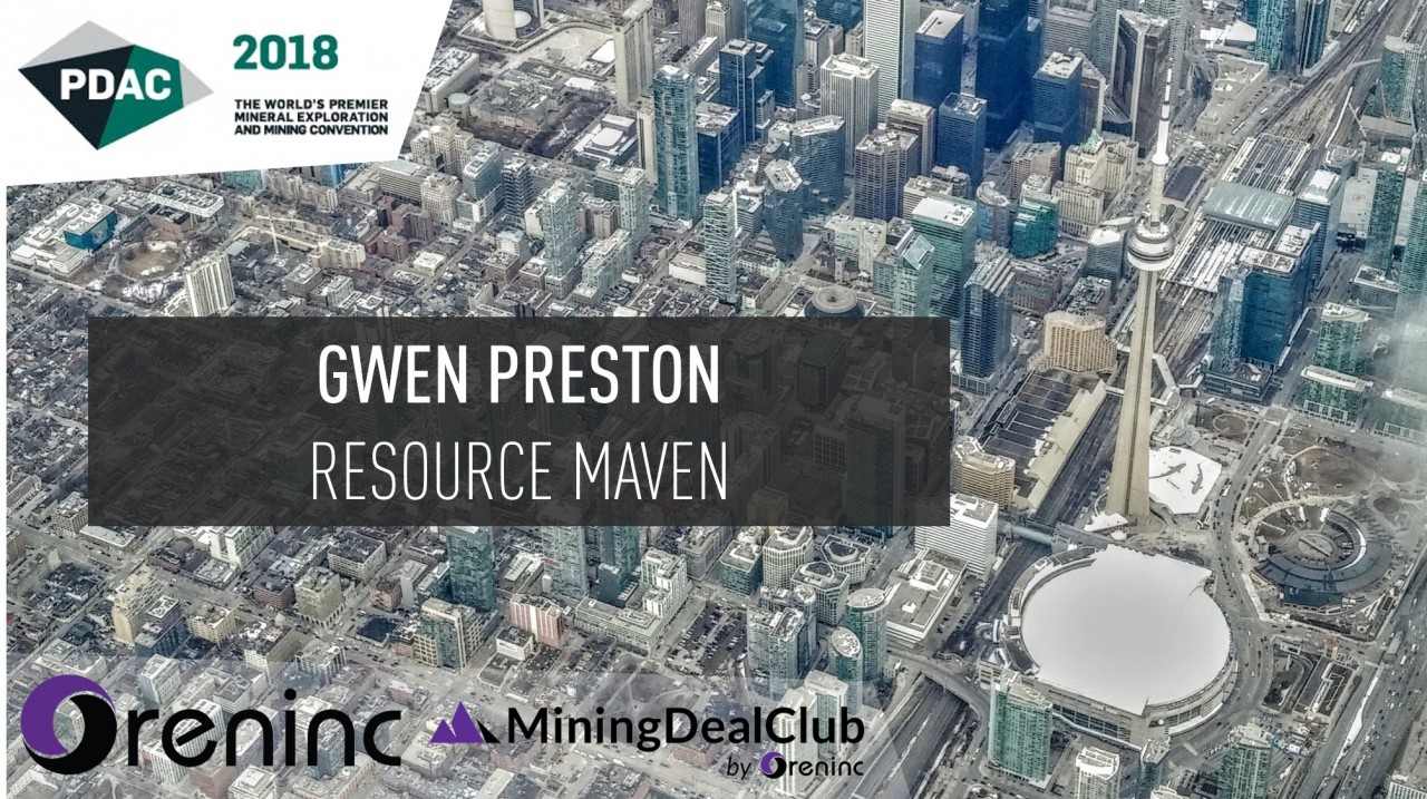 PDAC 2018: Gwen Preston, the Resource Maven