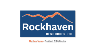 CEO Elevator Pitch: Matthew Turner, Rockhaven Resources Ltd. (TSX-V: RK)