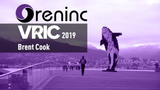 Oreninc Interview Special: Brent Cook at VRIC 2019