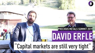 Interview: Capital markets are still very tight - David Erfle, Precious Metals Summit 2019